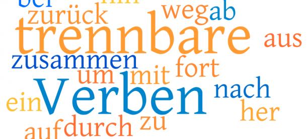 Trennbare Verben : Kata Kerja yang dapat dipisah