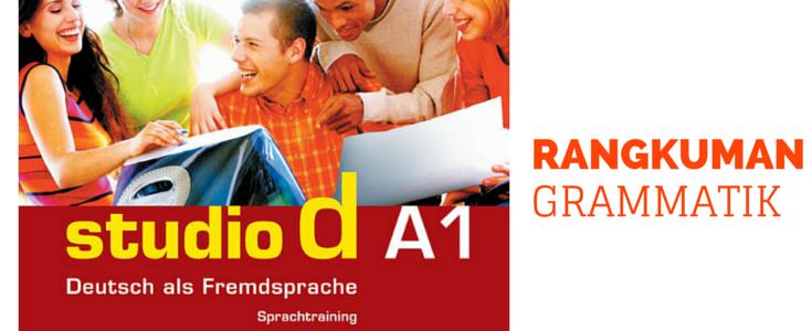 Rangkuman Grammatik Bahasa Jerman Studio D A1