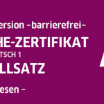 Sekilas Mengenai Ujian A1 atau Start Deutsch 1 di Goethe Institut